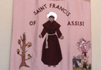 banner of St Francis
